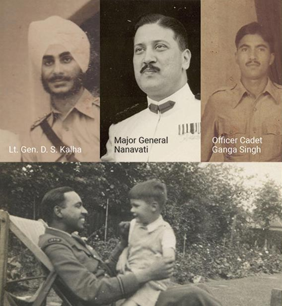 Four soldiers I have been able to identify from photographs